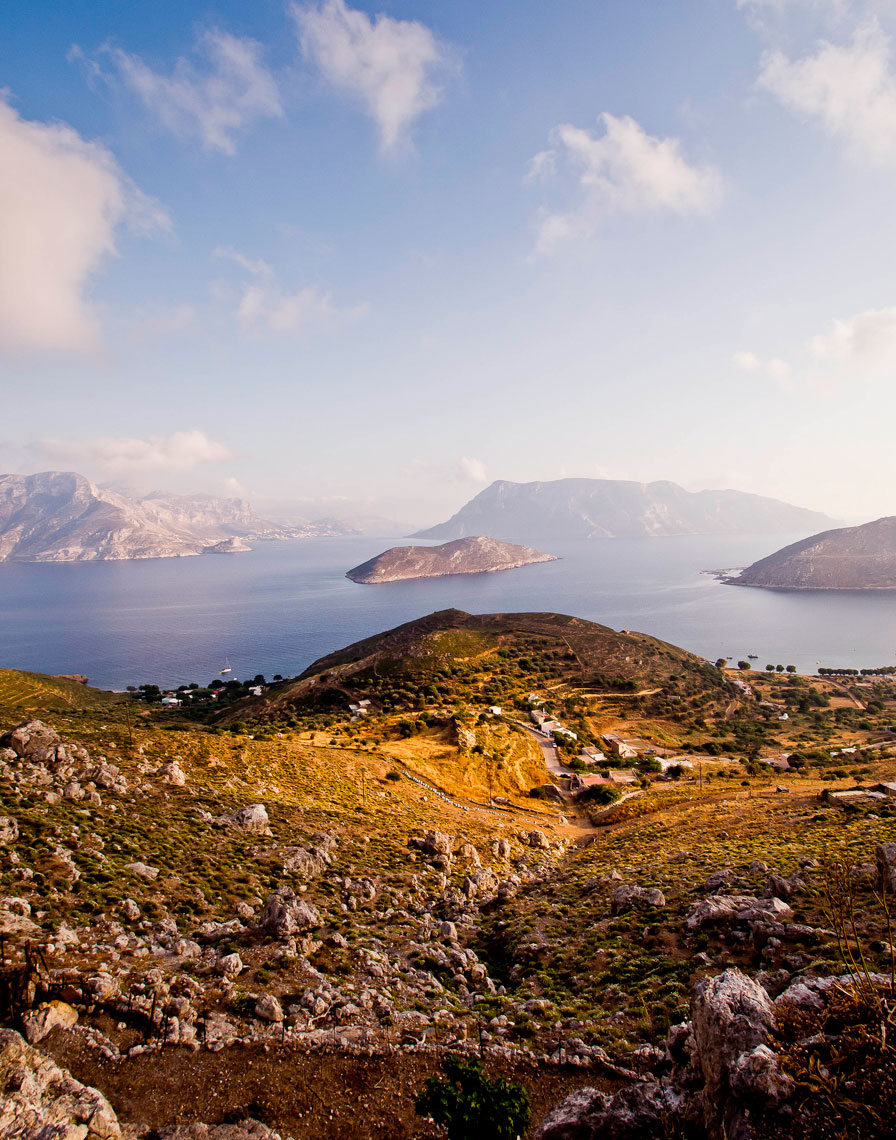 Island of Kalymnos Greece